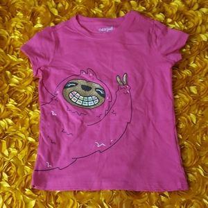 Cat & Jack Sloth tshirt